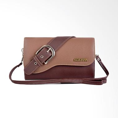 Azzura 648-05 Dompet Clutch Wanita - Coklat
