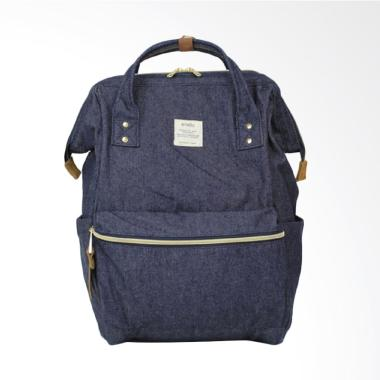Anello Oxford Backpack Cotton DENIM NAVY