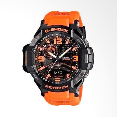 Casio G Shock GA-1000-4ADR Orange Jam Tangan Pria