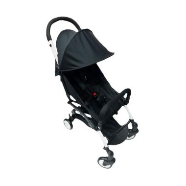 BabyDoes 338 Petite Kereta Dorong Bayi - Black