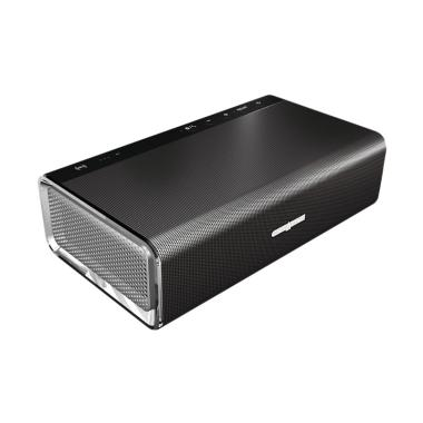 harga Creative Sound Blaster Roar Portable NFC Bluetooth Wireless Speaker with aptX-AAC - Black [5 Drivers/ Built-in Subwoofer] Blibli.com