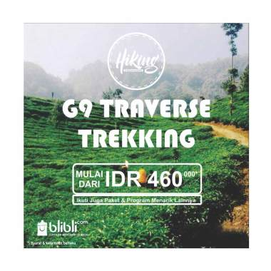 Hiking Organizer - G9 Traverse Trekking E-Voucher