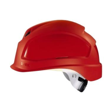Uvex Safety Helmet / Helm Safety / Perkakas Keselamatan 9772332 - Red
