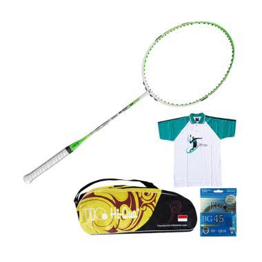 Paket Hi-Qua Raket Badminton New Ul ... x  [Raket/Tas/Kaos/Senar]