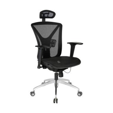 F.O Plaza Furniture Ergotec lx 953  ... tor - Black [Jabodetabek]