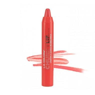 LA Colors Cunky Lip Pencil - Coral