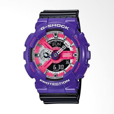 Best Price - CASIO G-Shock Jam Tang ... lack Purple GA-110NC-6ADR