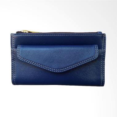 Veronia Wallet Dompet Wanita - Biru Tua