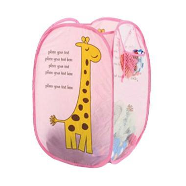 OEM Motif Girafe Keranjang Baju Kotor