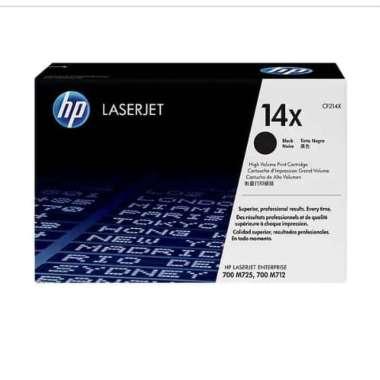 harga Toner HP LaserJet 14X Black CF214X_Original Blibli.com