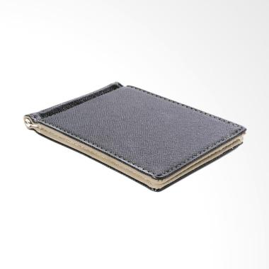 harga Gubintu MT194 Leather Men Business Style Money Clip Wallet ID Card Holder Slim Dompet Pria Blibli.com