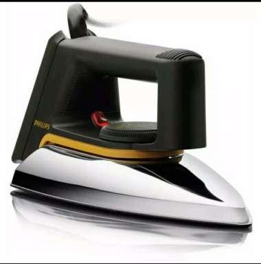 harga Philips HD-1172 Setrika Dry Iron / Gosokan HD1772 / Garansi Resmi ORI hitam Blibli.com