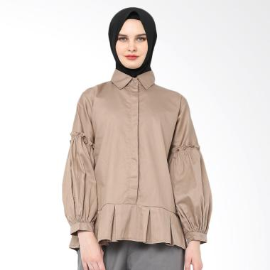 Xq Moslem Wear Moza Top - Brown