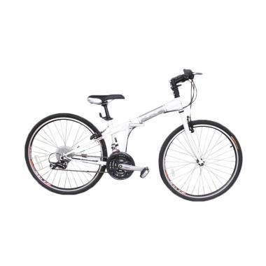 Selis Sepeda Lipat - Putih KHS F26