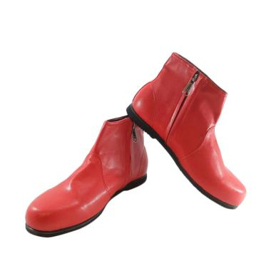 Oriniki Pasukan M1 Sepatu Boot Drumband Anak - Red [Unisex]