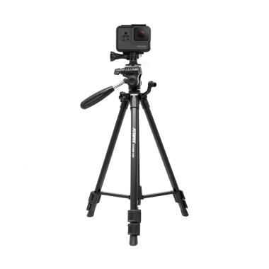 Attanta Kaiser 203 Video LightWeight DSLR Tripod for Action Camera