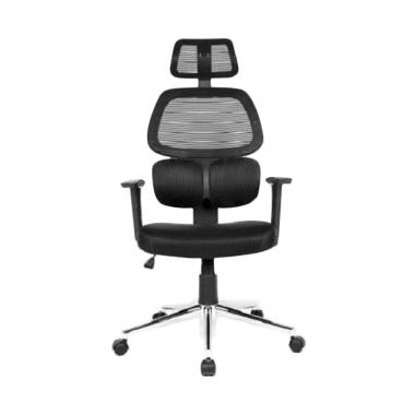 JYSK Tikitere Office Chair - Black [64x64x131 cm]