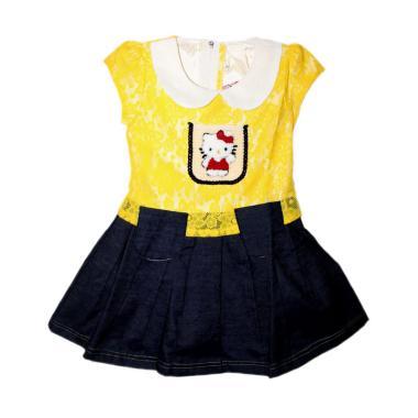 TWO MIX 1909 Broklat Jeans Dress Anak - Kuning