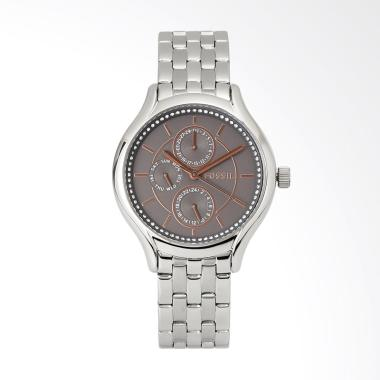 Fossil Mutifunction Tone Watch BQ 3 ... n Fashion Wanita - Silver