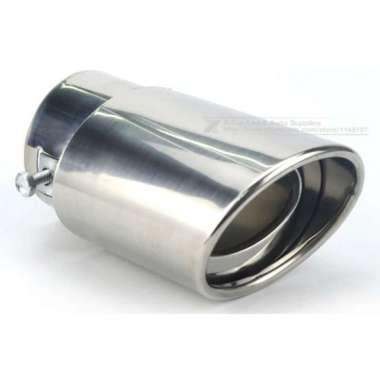 harga Muffler ujung pipa knalpot mobil Design racing anti karat mudah pasang 14.3x8.5x6cm meredam suara dr gas buang mengurangi tekanan &temperatur Blibli.com