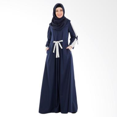 Valisha Gilda Dress Gamis Wanita - Navy