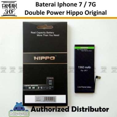 harga Baterai Hippo Double Power Original Apple Iphone 7 7G Batre Batrai Battery Dual Handphone Hipo Ori Blibli.com