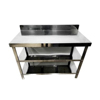 Metalco MT 3 Stainless Steel Meja Dapur or Kompor [3 Rak]