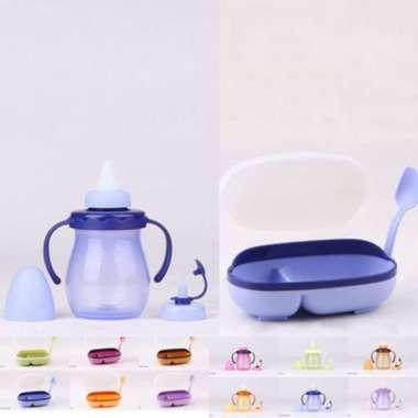 harga Tempat Makan Bayi + Dot Sekaligus Mug Mug Baby Set Tulipware Blibli.com