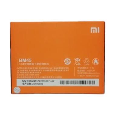 harga Xiaomi Baterai Handphone for Xiaomi Redmi Note 2, Xiaomi BM-45, Xiaomi BM45 Blibli.com