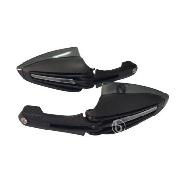 Acerbis Handguard or Pelindung Handle with Lampu LED For Byson - Hitam