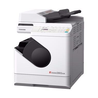 Toshiba e-Studio 2802 AM MFC [BISA A3/ ADA RADF/ PANEL SENTUH] GARANSI RESMI - - - FREE TONER - - - FREE INSTALASI & TRAINING JABODETABEK - - - FREE C
