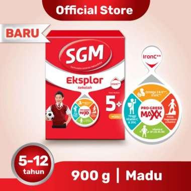 SGM Eksplor 5+ Madu Susu Formula Box [900 g]