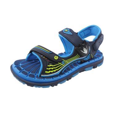 GP-Gold Pigeon G7628B-22 Kids Sandals Elast - Blue