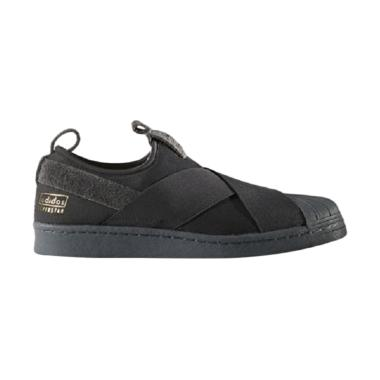 adidas Men Originals Superstar Slip ... a Unisex - Black (BZ0209)