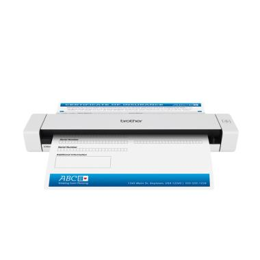 Brother DS-620 A4 Simplex Scanner Portable - Putih