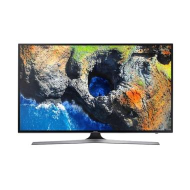 Samsung UA50MU6100KPXD UHD 4K Smart TV - Black [50 Inch]