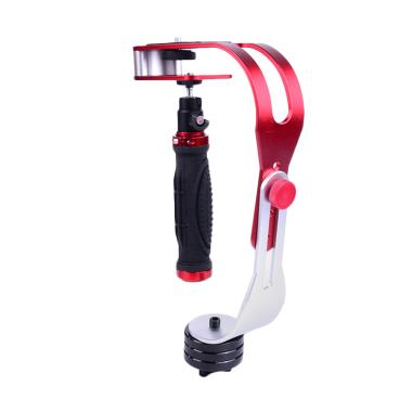Selft Handheld Stabilizer for Kamera DSLR/GoPro/Xiaomi Yi - Red
