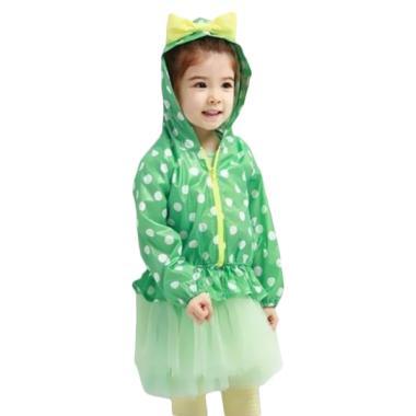 VERINA BABY Jacket Hodie Parasut Anak - Green