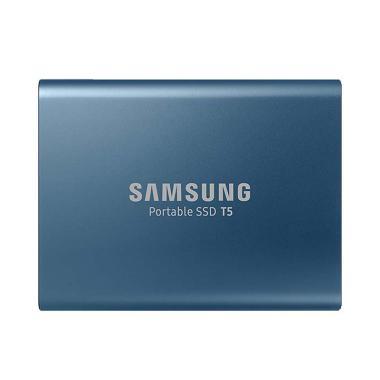 Samsung Portable Eksternal SSD - Biru [250 GB]