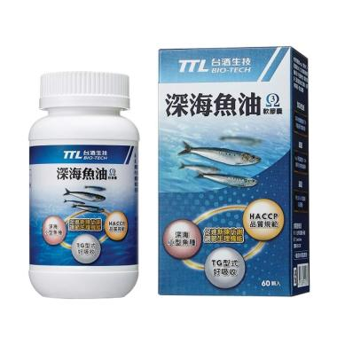 TTL BIO-TECH Fish Oil Soft Capsules