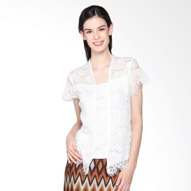 Bhatara Batik Women kebaya Lace Wanita - Putih