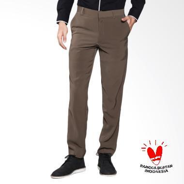 FG Clothing Formal Celana Pria - Coklat Muda