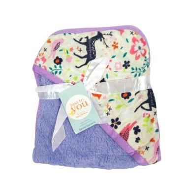 Just To You Double Fleece Hoodie Carter's Selimut Bayi - Purple