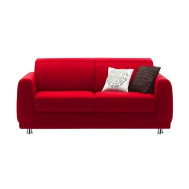 Ivaro Fluppy Sofa - Red