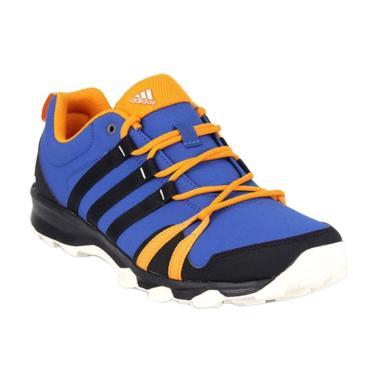 adidas Mens Trail Sepatu Hiking Pri ... lack/Chalk White [Af6150]