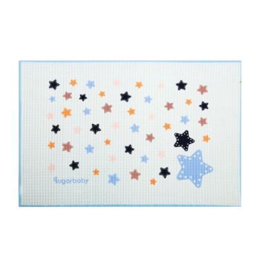 Sugar Baby Star Organic Healthy Cot ... ganik - Blue [90 x 60 cm]