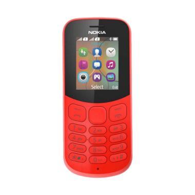 Nokia 130 2017 Handphone - Red [Dual SIM]