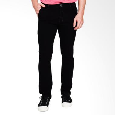 Cardinal Jeans Straight Slim CBCX010 01A Celana Panjang Pria - Black