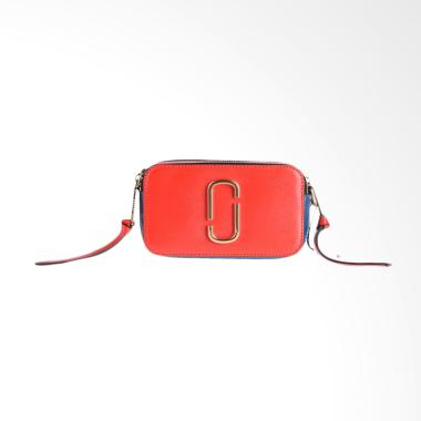 Marc Jacobs Snapshot Small Camera Bag - Lava Red Multi [100% Original]