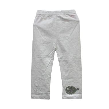 Import Kid 1778 Celana Legging Anak Perempuan - Grey